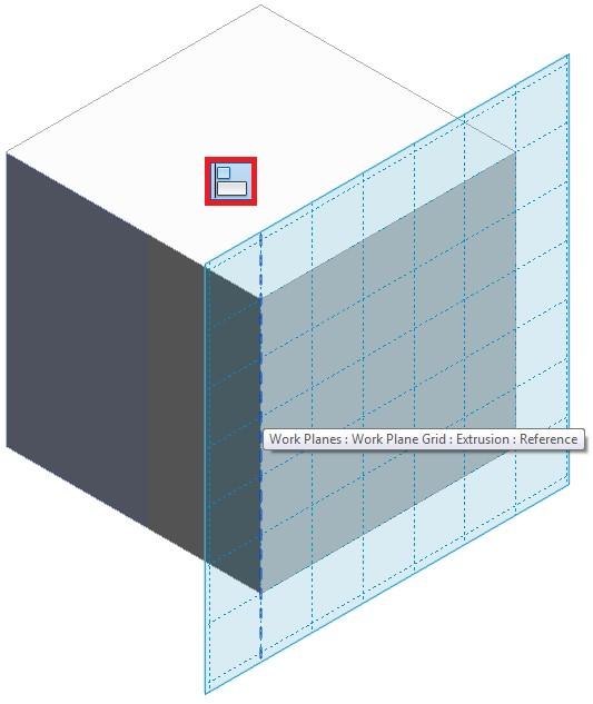 Set the Work Plane - Grid